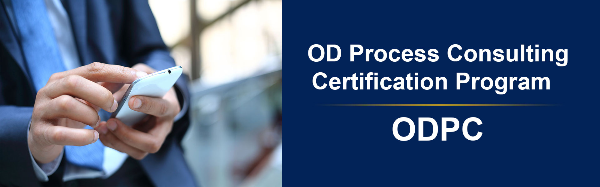 Organization Development Process Consulting Certification Program ODPC