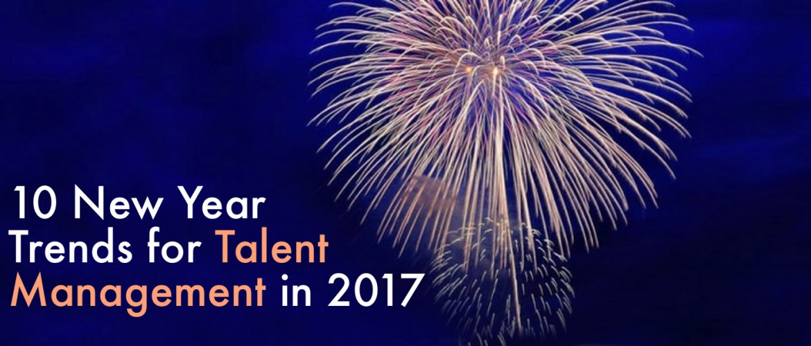 an article about ten new year trends on talent management