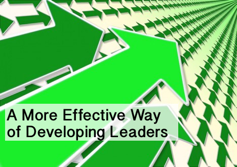 an article about the effective ways of developing leaders