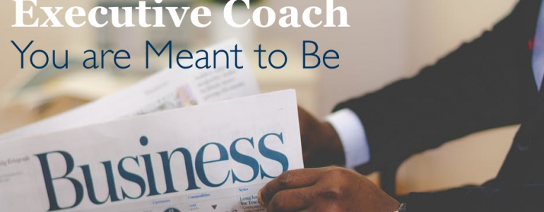an article about becoming the executive coach that you are meant to be